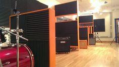 recording studio gobo instrument isolation all diy