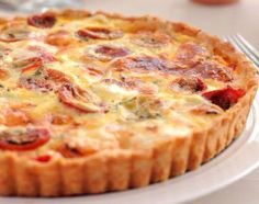 voici la recette pour faire une tarte à la tomate et au thon Weight Watchers, le temps de préparation de la recette ne prend pas plus que 40 minutes,
