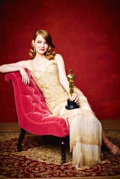 """mcavoys:  """"Emma Stone photographed during the 89th Annual Academy Awards at Hollywood & Highland Center on February 26, 2017 in Hollywood, California.  """""""