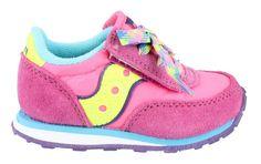 Todder Saucony:  Girl-Saucony-Baby-Jazz-Hl-Slip-On-Shoe-