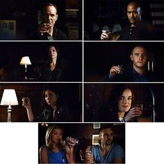 """Agents of SHIELD 3x13 """"Parting Shot""""  The spy's goodbye broke my heart"""