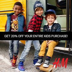 Go Back to School in Style with H&M #giveaway - MyBabyStuff Blog