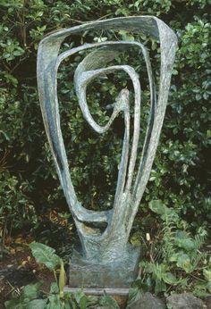 Dame <b>Barbara</b> <b>Hepworth</b> , Garden <b>Sculpture</b> (Model for Meridian) 1958
