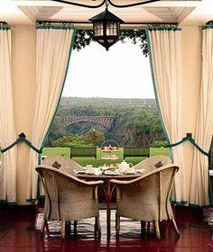 Victoria Falls Hotel, Zimbabwe.