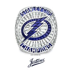 This ring sure is striking ⚡💍 We are proud to have created the 2021 Stanley Cup Championship Ring for the Back-to-Back Champs Tampa Bay Lightning!