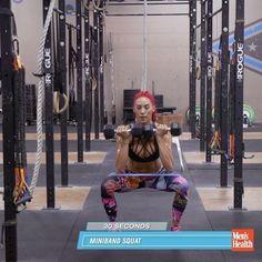 Hannah Eden workout