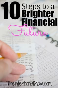 Are you looking for a brighter financial future? Following these simple steps from someone who was out of debt by age 42 and you will be well on your way!