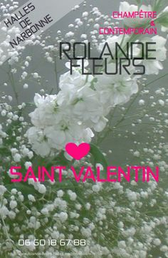 Saint Valentin collection de bouquets tendances, Rolande vous propose une large collection de bouquets de fleurs http://www.rolande-fleurs-halles-narbonne.com/article-saint-valentin-122409602.html