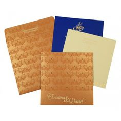 Designer Wedding Cards | D-8258F | 123WeddingCards #WeddingInvitations #NewArrivals