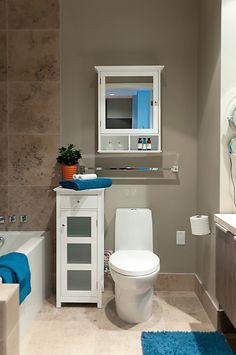 Home staging, bathroom. www.privatepropertystaging.com