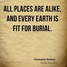 Christopher Marlowe Quote shared from www.quotehd.com