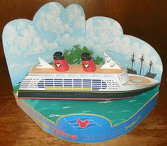 PansTinkerBell uploaded this image to 'Disney Cruise Paper Craft'. See the album on Photobucket. Projects For Kids, Crafts For Kids, Ship Craft, Disney Cruise Ships, Disney Trips, Birthday Party Themes, Trip Planning, Painted Rocks, Door Decorating