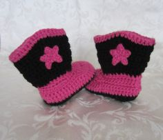 1f367612654 Blue Bayou Designs · Crochet cowboy boots with star knit cowboy by  BlueBayouDesigns Crochet Cowboy Boots