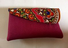 African Print Clutch Bag                                                                                                                                                                                 More