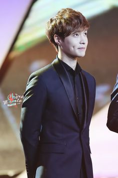 EXO's-Lay somebodies dimples are showing:)!!!!