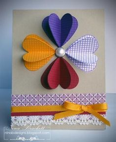 homemade cards ideas | 30 great ideas for handmade cards creating a great hand made card ...