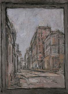 Alberto Giacometti, The Street, 1952