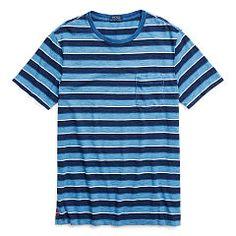 Custom Fit Cotton T-Shirt - Polo Ralph Lauren T-Shirts - Ralph Lauren Germany