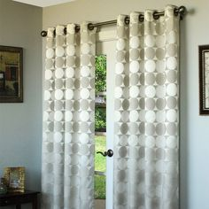 I pinned this Sonoma Curtain Panel in Silver from the Laudan Bay event at Joss and Main!