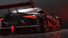 A huge wing and diffuser dominate the rear of the Vision GT