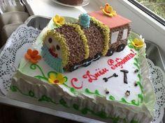 Торт«Паровозик счастья»