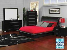 Black Bedroom Furniture Set   bedroom   Pinterest   Black bedroom ...