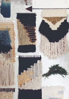 Janelle Pietrzak van All Roads Design #weven #weaving #trends #crafts #handmade #diy #interior #decoration