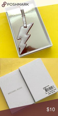 Striking⚡️ Brand New Michael Kors Leather Bag/Luggage Tag. Michael Kors Accessories