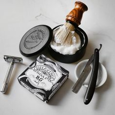 Commando Shaving Soap Reclaim those mindless morning moments and make shaving what it once was: an experience. New and improved recipe with a goldmine of natural, organic skin-enhancers. Straight Razor Shaving, Shaving Razor, Shaving Soap, Men's Shaving Kits, Shaving Supplies, Beard Grooming, Men's Grooming, Safety Razor, Beauty Box