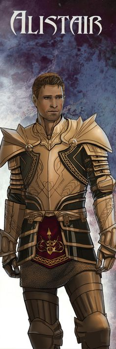 Dragon Age: Origins - Alistair by ~elfkin