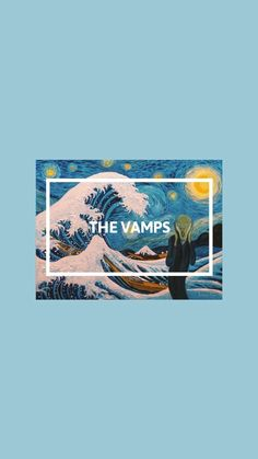 The Vamps Aesthetic Wallpaper Blue Wallpaper Jam, Music Wallpaper, Iphone Wallpaper, Vaporwave Anime, Blue Aesthetic, Background For Photography, The Vamps, Vincent Van Gogh, Wall Collage