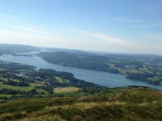 Wansfell Pike view of Windermere