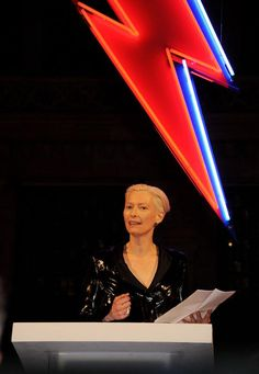 Tilda Swinton's dinner speech at the opening of David Bowie is (http://www.vam.ac.uk/b/blog/va-network/tilda-swintons-dinner-speech-opening-david-bowie?sf10717152=1)