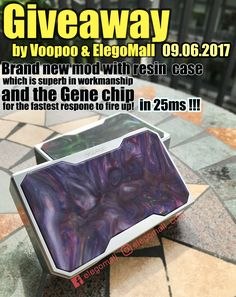 VOOPOO DRAG 157W TC Box Mod JUST DID IT! SUPER FAST SPEED to FIRE UP in 0.025s!   #VOOPOO DRAG#157W TC Box Mod#ecig#vapelife#vaping#genechip#superfast#vapelovers#elegomall#bestvapewholesale