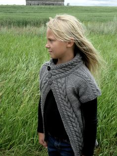 KNITTING PATTERN Cardigan PDF Knit pattern by KnotEnufKnitting