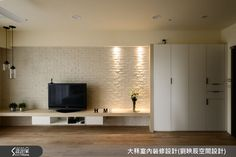 電視櫃! 電視牆!   訂製我倆甜蜜的未來!就從北歐風的清新宅開始-設計家 Searchome Living Room Grey, Living Room Decor, Hotel Room Design, Tv Decor, Home Decor, Home Tv, Classic House, Living Room Designs, House Design