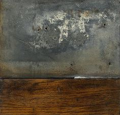 The minimal quality is so appealing, as is that fantastic sense of patina from the paint and the wood.  wolfgang bloch