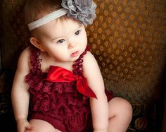 Holiday romper, Burgundy Wine Lace Petti Romper, Christmas romper, Baby girl's clothing, maroon Rompers, Photography props, Birthday outfit