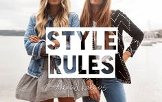 THE STYLE RULES | TheyAllHateUs