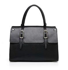 Sale - Black soft leather handbag - Aventino Brand | AventinoBrand.com offers quality handbags, purses, totes, wallets