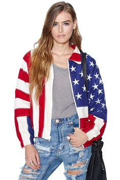 Vintage Stars & Stripes Forever Jacket