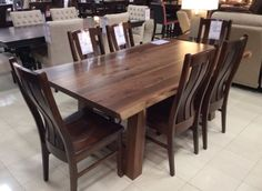 Wonderful The Addition Of This Solid Wood, American Made Dining Set Will Totally  Transform Your Dining