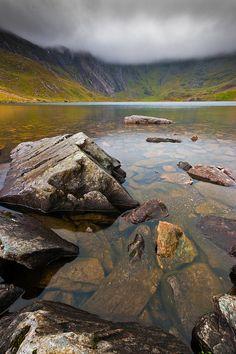 Llyn Idwal #4, Cwm Idwal, Snowdonia, North Wales by Anthony Lawlor