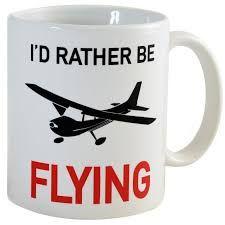 Pilot Presents Pilot Gifts Design 3 Crazy Tony/'s Personalised Pilot Gift Mug