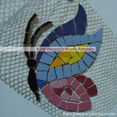 borboleta mosaico