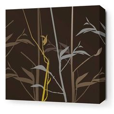 Darby Home Co Heinemann Tall Grass Stretched Graphic Art on Wrapped Canvas Size: