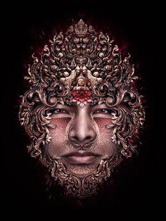 mystical portrait photoshop tutorial