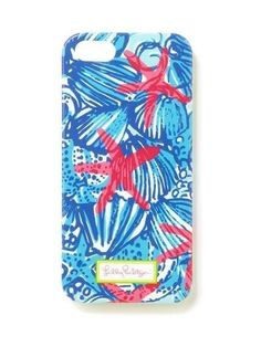 Lilly Pulitzer iPhone 5/5S Cover in She She Shells