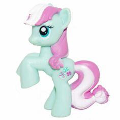 Minty - I pony I remember being interested in long ago. I don't think she's really in the new show, just a design from Hasbro's older ponies.