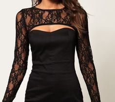 lace! Love the cutout